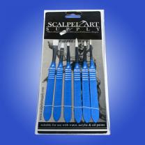 Scalpel Brush Set 6pk